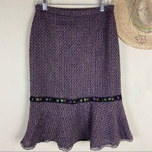 DressBarn Peplum Pencil Skirt